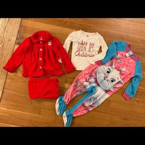 Girls Winter Pajama Bundle